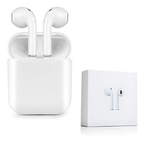 audífonos bluetooth inalámbricos estereo airpods estuche i8p