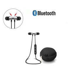 Audifonos Bluetooth Inalambricos Magneticos  + Estuche