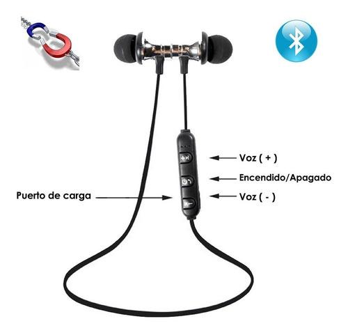 audifonos bluetooth inalambrios magneticos manos libres