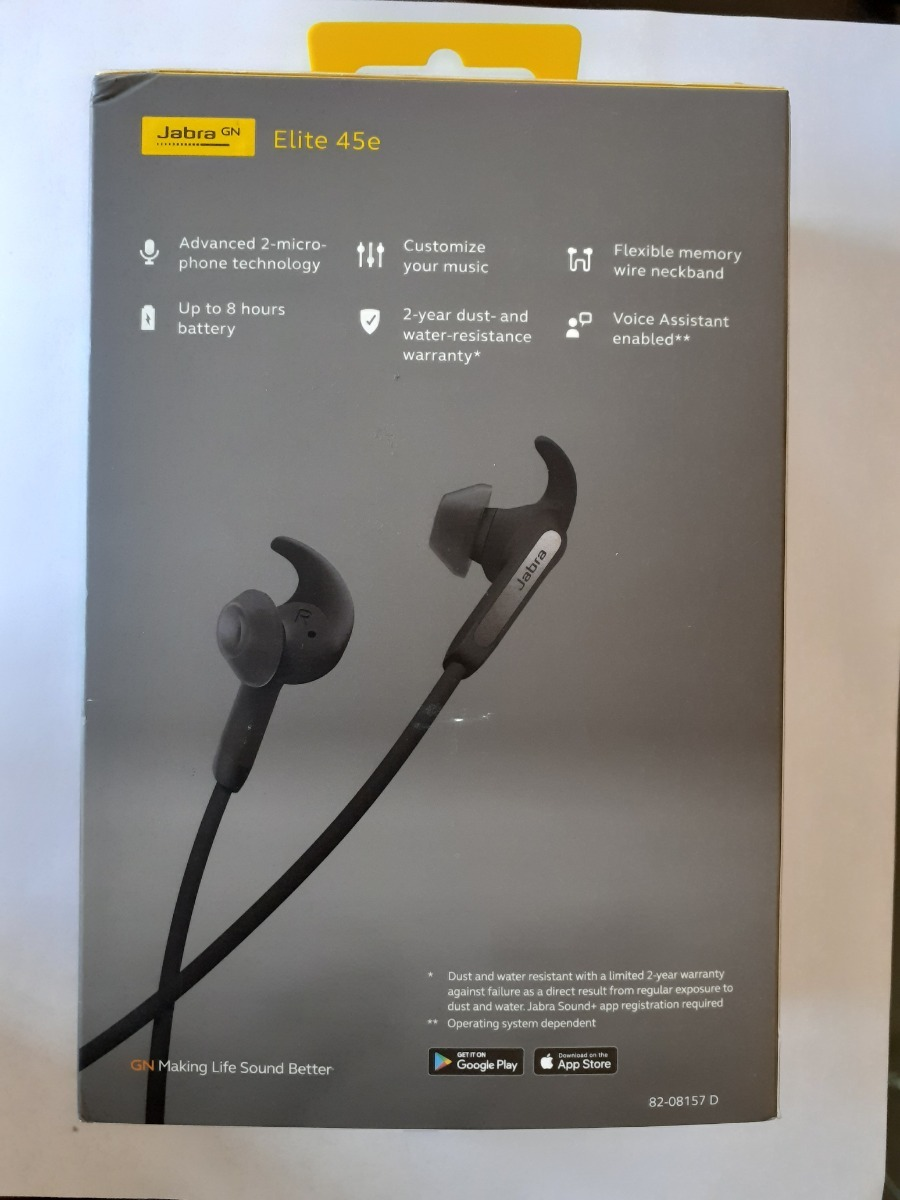 Audífonos Bluetooth Jabra Elite 45e