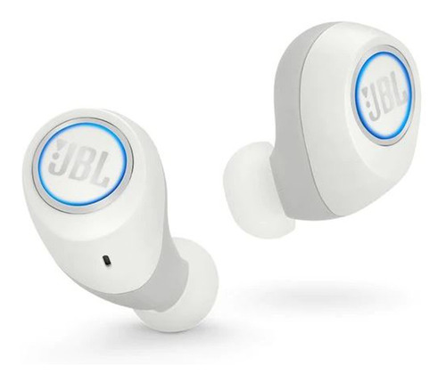 audifonos bluetooth jbl free in-ear blanco