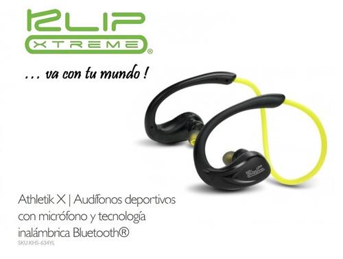 audifonos bluetooth klip 634 trotar correr ciclismo celular