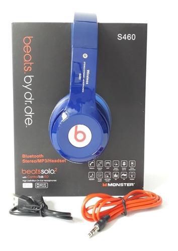 audifonos bluetooth marca beats mod solo 2 s460 inalambricos