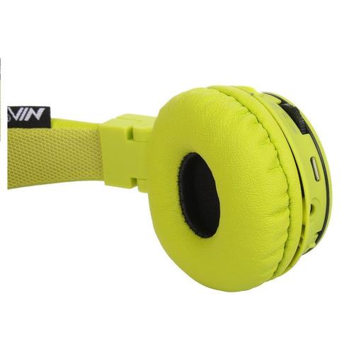 audifonos bluetooth nia x2 diadema mp3 microsd fm aux mic