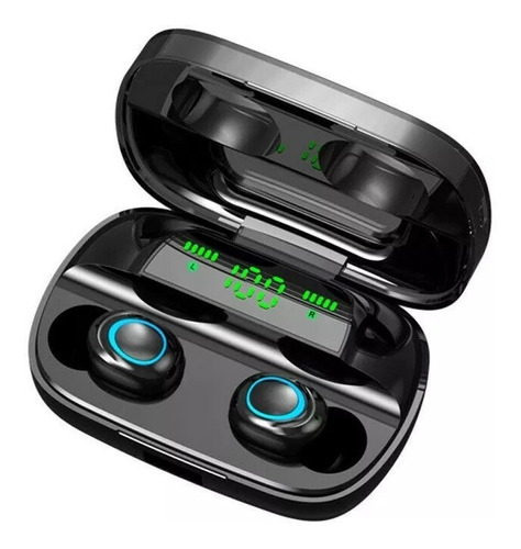 audifonos bluetooth s11 tws tactil power bank 3500 mah ipx5