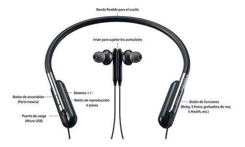audífonos bluetooth samsung u flex inalámbricos micrófono
