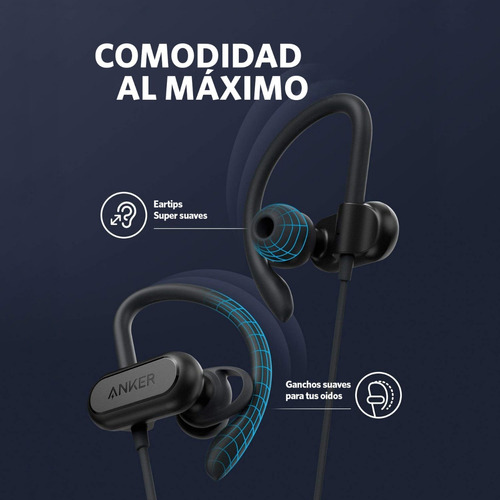 audífonos bluetooth soundcore spirit x