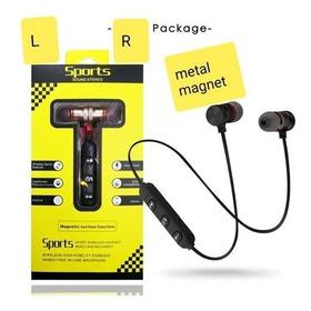 Audífonos Bluetooth Sport Con Cabeza Imantada