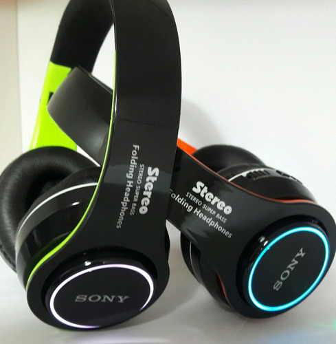 audífonos bluetooth stereo mp3- aux