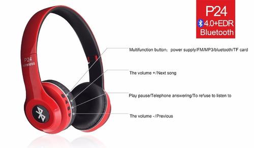 audifonos bluetooth stereo /radio /manos libres