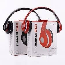audifonos bluetooth stn-13 stereo radio fm musica