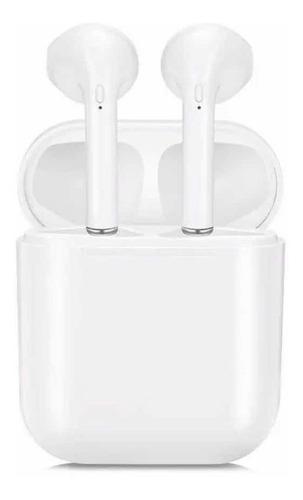 audífonos bluetooth tipo air pods + caja recargable