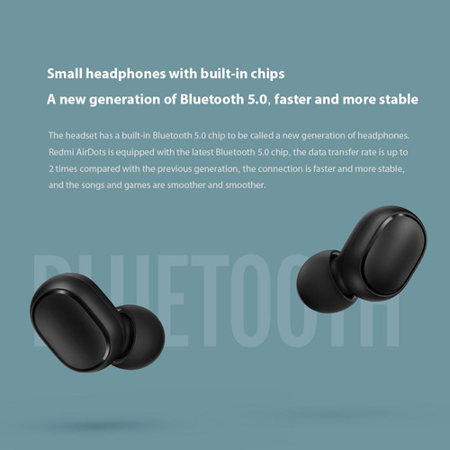 audifonos bluetooth xiaomi redmi dual v5.0 au 100% original