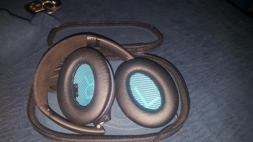 audífonos bose qc25 noise canceling negros 10/10 estado.