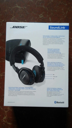 audífonos bose ® soundlink on-ear ® bluetooth ® headphones