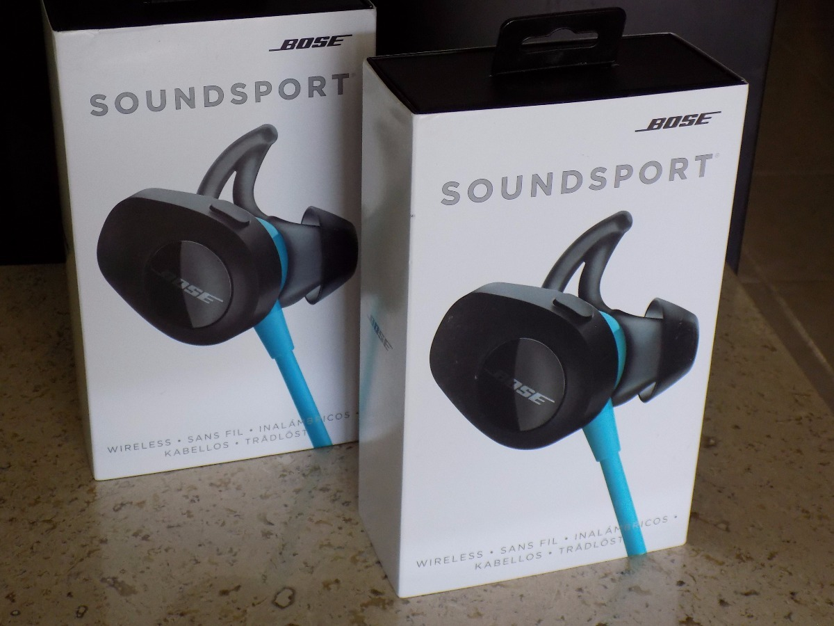 e39ddb333df Audifonos Bose Soundsport Wireless Color Aqua Nuevos - $ 2,400.00 en ...