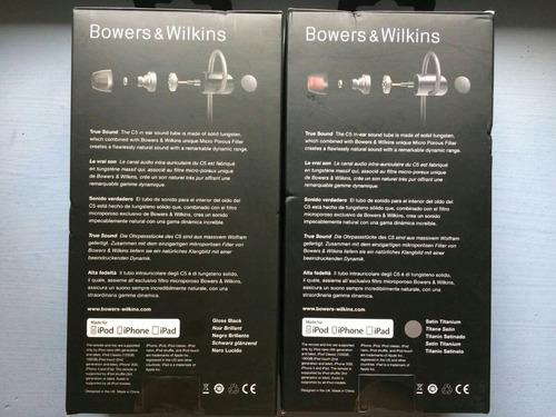 audífonos bowers & wilkins c5