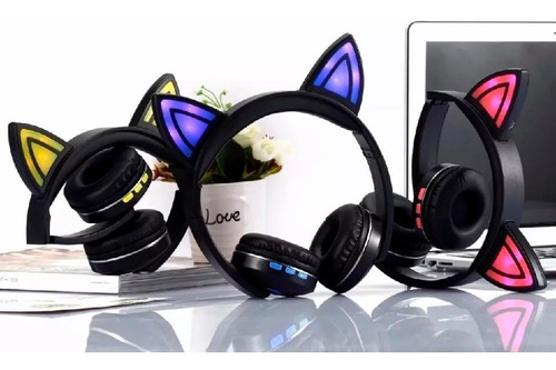 audifonos cat ear wireless bluetooth orejas de gato tienda!!
