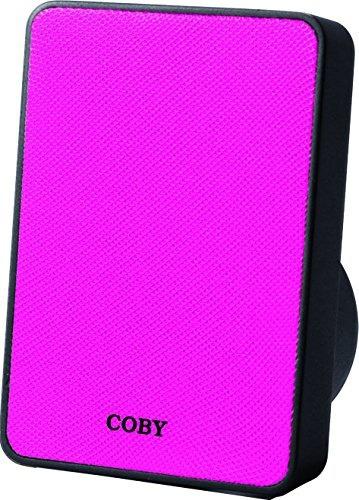 audifonos coby csbt 318 pnk pitch portable pink
