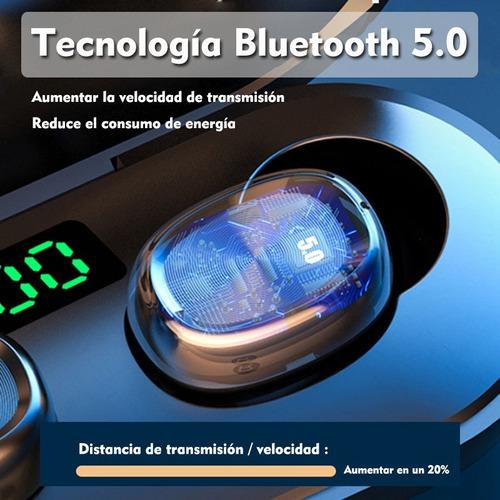 audífonos con bluetooth, manos libres y pantalla led táctil