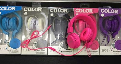 audífonos con manos libres ep-05 3.5mm mayor y detal
