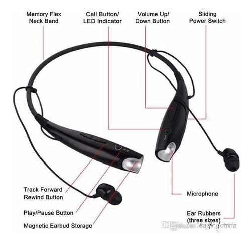 audifonos con microfono, bluetooth hv800, se envia a todo cr