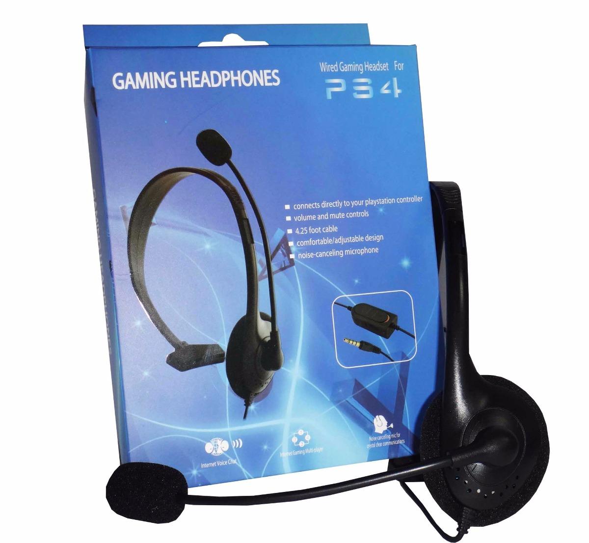 audifonos con microfono ps4