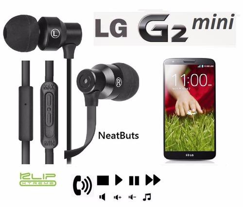 audifonos control volumen canciones y llamadas lg g2 mini