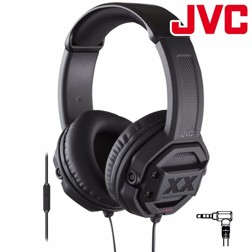audífonos de diadema jvc ha-mr60x xtreme xplosives