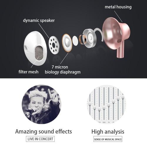 audífonos de estilo personalizado de apple, auriculares de l