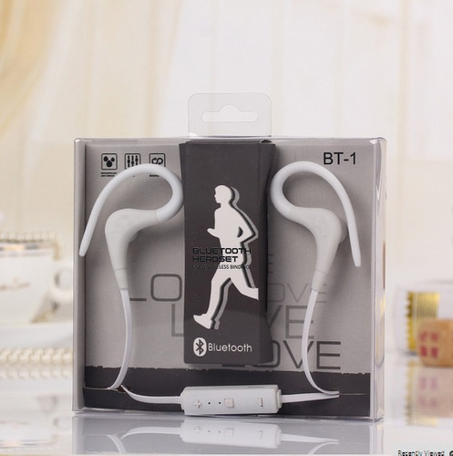 audífonos deportivos bluetooth manos libres micrófono bt-1
