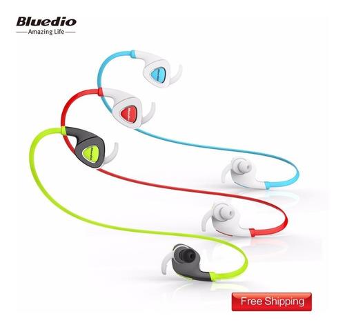 audifonos deportivos bluetooth stereo bluedio q5 sport nuevo