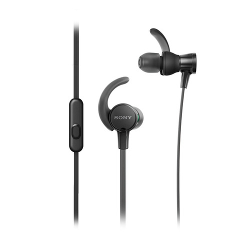 audífonos deportivos intrauditivos xb510as extra bass negro