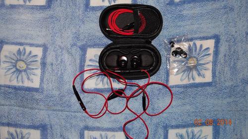 audífonos deportivos power beats