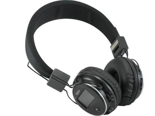 audífonos diadema bluetooth mp3 radio fm stereo micro sd