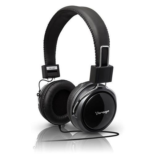 audifonos diadema con microfono pc 2 jacks hp-300c vorago