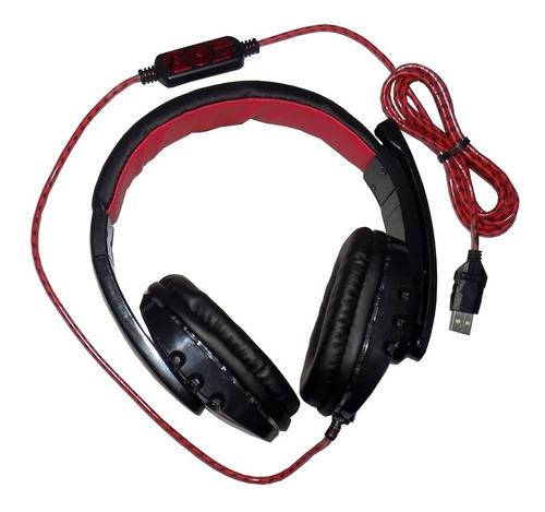 audifonos diadema gamer usb audio 5.1 pc laptop ps4 ps3 jueg