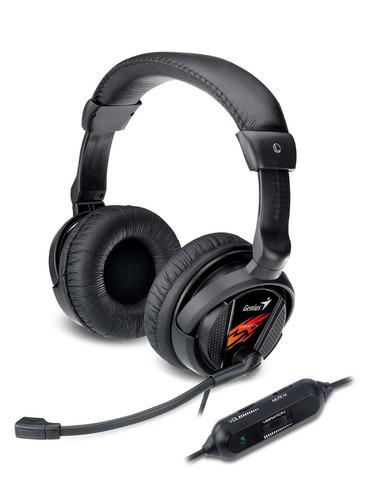 audífonos diadema genius chat gamers hs-g500v vibra