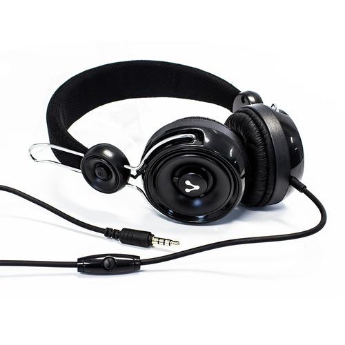 audifonos diadema manos libres con microfono hp-205 vorago