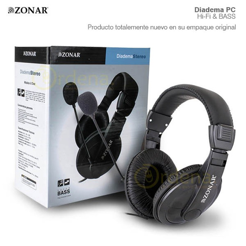 audifonos diadema micrófono