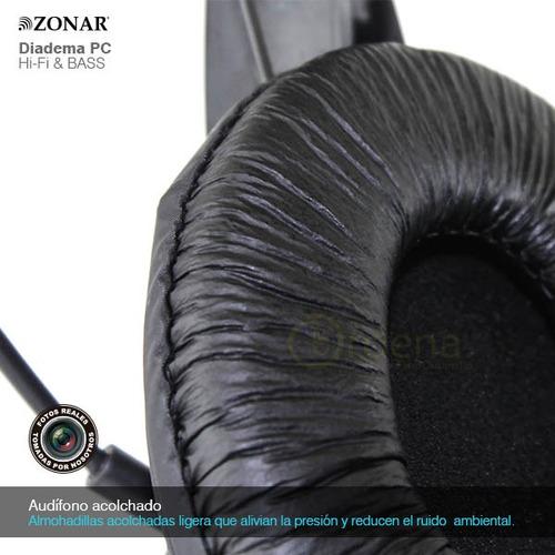 audifonos diadema pc laptop micrófono control volumen hifi
