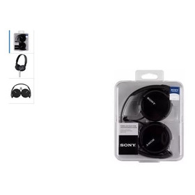 Audifonos Diadema Sony Mdr Zx110 Negro Original Garantizado