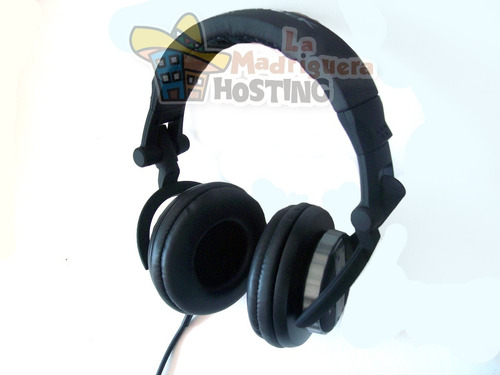 audifonos dj audition acteck hd900 para profesionales cwk