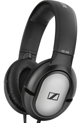 audifonos dj sennheiser hd 206 over ear)