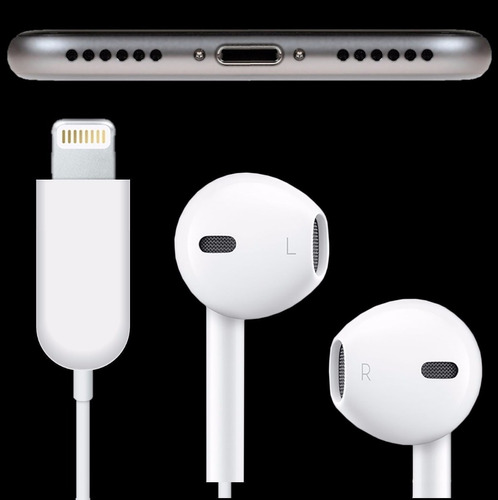 audifonos earpods apple 100% original para iphone 7 7 plus