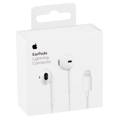 audifonos earpods iphone 7 apple lightning original caja