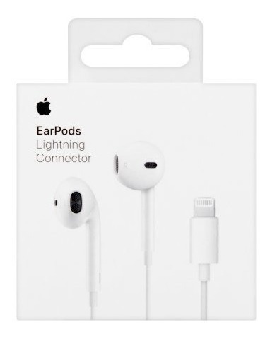 audífonos earpods lightning apple original iphone 7 8 plus x