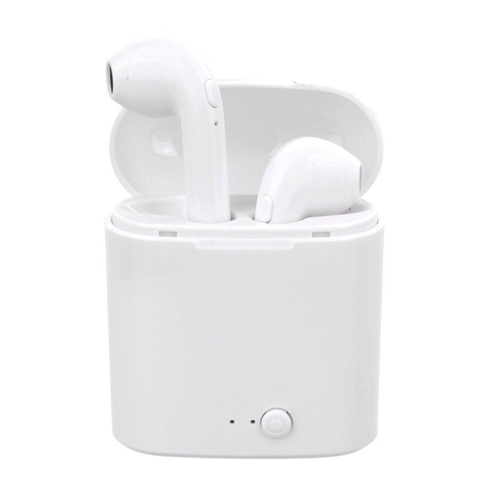 eb613158f5c audífonos earpods manos libres bluetooth i7s inalambricos. Cargando zoom.