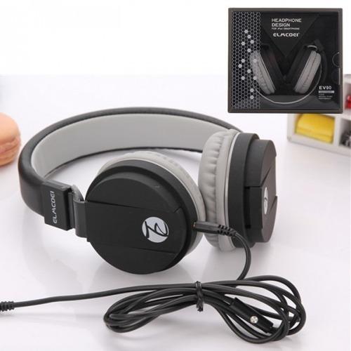 audifonos elmcoei ev90 high fidelity plegables negro