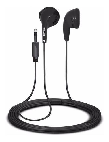 audífonos estereo de boton maxell ear buds eb-95 nuevo